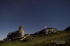 Formaciones rocosas #AlfozdeSantaGadea #fotografíanocturna con luz de luna #Merindades #Burgos