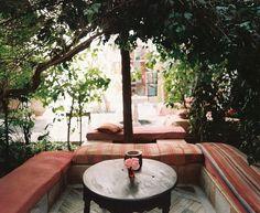Morrocan patio