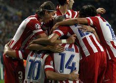 Champions League. Oporto 1 At Madrid 2