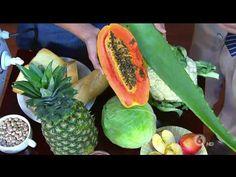Como Eliminar Los Gases DISMINUIR LA FLATULENCIA Y Aerofagia   Como Quitar Los Gases Rapido - YouTube Cantaloupe, Pineapple, Fruit, Healthy, Nature, Youtube, Food, Immune System, Healthy Drinks