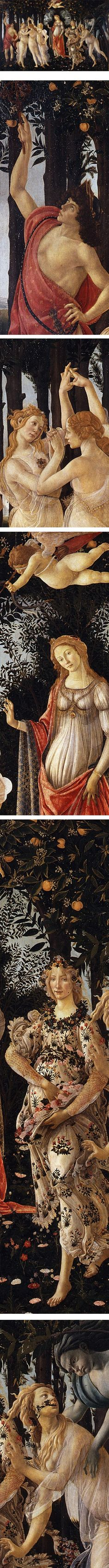 Eye Candy for Today: Botticelli's Primavera