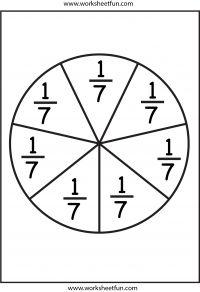 fraction circles 2nd Grade Math Worksheets, School Worksheets, Free Printable Worksheets, Printable Letters, Fractions, Math Fraction Games, Math Games, Framed Words, Circle Template