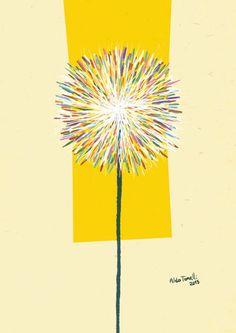 """Aldo Tonelli / Ilustraciones: """"Panadero multicolor"""""""