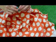 (12) Zrób to Sama - spódnica z koła - Jak uszyc spódnicę z koła na gumce [Coza Szycie] - YouTube