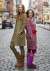 Striped tunic in lyocell/cotton/spandex
