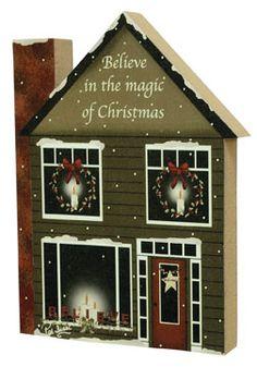 Believe Chunky House - Kruenpeeper Creek Country Gifts