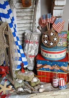 ChiPPy! - SHaBBy!: ** ViNtaGe 4th of July** ~ Blog PaRtY ViGneTTeS!*!*!
