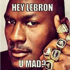 Michael Jordan > LeBron James