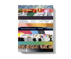 Samsung Brochure by Nico Gibson, via Behance