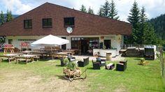 Ein herrlicher Sommertag auf der Strohsackhütte 1359 Meter - möchten auch Sie hier entspannen? www.almrausch.co.at