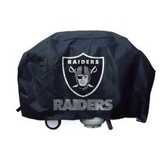 This officially licensed Oakland Raiders Economy Grill Cover is constructed of durable vinyl and displays your favorite team logo on one side. This large grill cover features a velcro closure to keep it secure on windy days. Raiders Team, Nfl Oakland Raiders, Raiders Baby, Raiders Stuff, Raiders Football, Las Vegas, Nfl Baltimore Ravens, Nfl Carolina Panthers, Nfl Arizona Cardinals