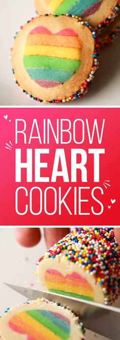 These Rainbow Heart Cookies Will Blow Your Mind