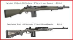 ruger gunsite scout - Google Search