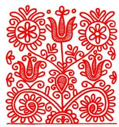"""Hungarian Embroidery Stitch Képtalálat a következőre: """"volga fonal"""" - Hungarian Embroidery, Folk Embroidery, Learn Embroidery, Hand Embroidery Patterns, Embroidery Stitches, Embroidery Designs, Soutache Pattern, Heirloom Sewing, Bird Drawings"""