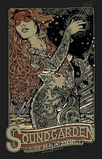 LOVE this gig poster...I want one of these SO BAD!