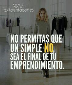 Si te rindes a la primera señal de DIFICULTAD, siento decirte que TÚ no mereces el ÉXITO!!!  -WV-  Síguenos por Instagram @exitoentaconeswv   #exitoentacones #frase #motivacion #dequeestashecha #exito #mujerimparable #liderazgofemenino #metas #enfoque #vision #emprende #sinlimites #progreso #pasoapaso #lifestyle #mujerentrepreneur #Imparable #networker