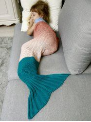 SHARE & Get it FREE | Sofa Decor Ombre Chunky Crochet Knit Mermaid Blanket Throw For KidsFor Fashion Lovers only:80,000+ Items • New Arrivals Daily • Affordable Casual to Chic for Every Occasion Join Sammydress: Get YOUR $50 NOW!