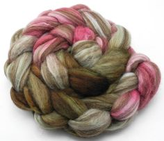 Napolitano mano teñido Roving - Hand Dyed Fiber Spinning - Teñido al pedido