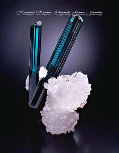 Indicolite Tourmaline - no info available at site.