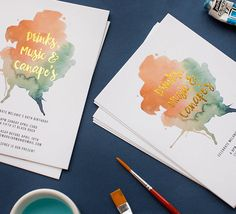 INVITES- Browse, personalise and order wedding invitations online with stationery created in collaboration with the best Australian & International designers. Free express shipping & envelopes.