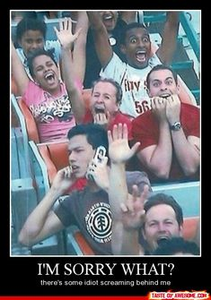 I'd love to be awesome and make a boss roller coaster picture like this! hahaha