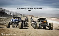 king of the hammers.... these are the ultimate machines for short term offroad. Crazy fast, crazy capable