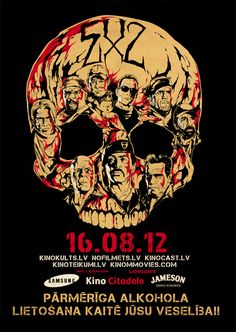 The Expendables 2 - movie poster - Harijs Grundmanis