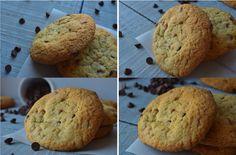 """Cookies """"chewy"""" aux fudges + noix et chocolat."""