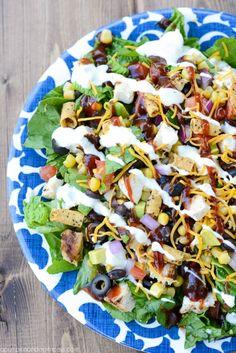 BBQ Chicken Salad Recipe
