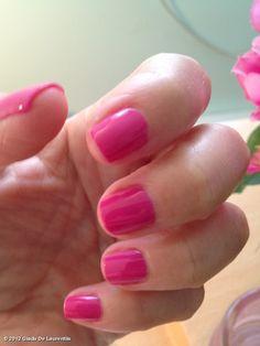 Giada Says: Jade had to choose my nail color on my birthday. Essie Mod Squad incase u wanna try it too! Love Nails, How To Do Nails, Fun Nails, Pretty Nails, Giada De Laurentiis, Pink Polish, The Lone Ranger, Beauty Bar, Beauty Shop