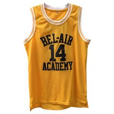 bd7d9867231 Fresh Prince Of Bel-Air Academy Basketball Jersey  14 Home