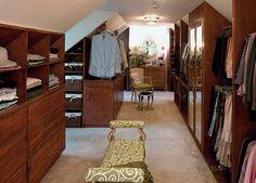 attic ideas photos | ... Design Collections Images. Traditional Attic Closet Design Ideas