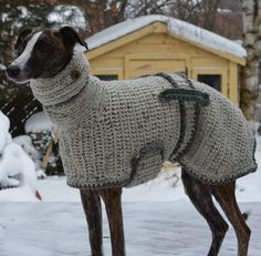 Greyhound Sweater  Greyhound Coat  by CTDESIGNSBESPOKEBAGS on Etsy