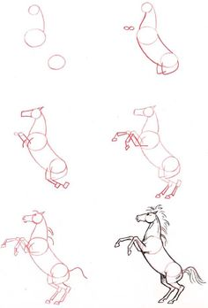 How To Draw A Horse   Click here for a full list of all the animals you can learn to draw