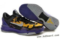 Nike Zoom Kobe 7 Shoes Poison Dart Frog Lakers Hot