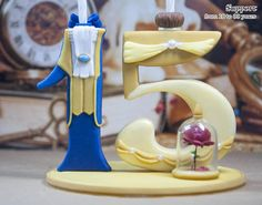 Beauty and the Beast Candle Holder Beauty and the Beast Cake