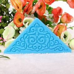 Lace Cake Mold Fondant Sugar Decoration - €2.07