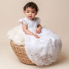Christening Gown -  I love this idea!  Having my future children wear a piece of my wedding dress for their christening would make for such a wonderful memory.