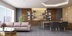 Thiết kế nội thất phòng giám đốc  PGD01
