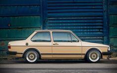 1982 Volkswagen Jetta Side - The Volkswagen Fox, childhood dreams Vw Fox, Volkswagen Golf Mk1, T2 T3, Slammed Cars, Vw Cars, Classic Cars, Polo Classic, Dream Cars, Engineering