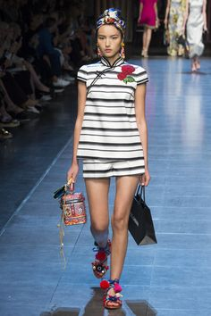 Dolce & Gabbana  SS16 This season, Domenico Dolce and Stefano Gabbana decided to create an ode to Italia, a celebration of the wonders and beauty that their home country. #MFW