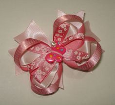 Christmas hairbow hairbow cute hairbows for by GirlsFairytaleWorld, $4.00