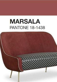 """Pantone has annunced the 2015 Colour of the Year: #Marsala - """"The naturally robust and earthy wine red hue 'enriches our mind, body and soul, exuding confidence and stability"""" - BAXTER 