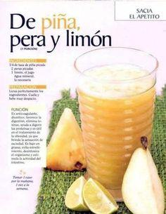 Jugo nutritivo y saludable para calmar el apetito y mantener alejados los malos alimentos. #jugosverdes #infografia #salud