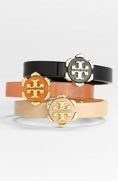 tory burch logo bracelet :: love!