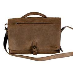 Briefcase Evolution Leather Bag by Kjøre Project