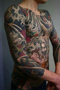 Japanese Tattoo - Irezumi