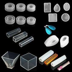 Faça você mesmo molde de Silicone Pingente fazendo Joias Pingente Resina de fundição molde Craft Tool | Artesanato, Materiais para artesanato - uso geral, Materiais para artesanato | eBay!
