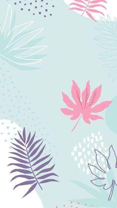 Fundo para stories Wallpaper Pastel, Pastel Background Wallpapers, Blue Floral Wallpaper, Trendy Wallpaper, Blue Wallpapers, Wallpaper Iphone Cute, Pretty Wallpapers, Iphone Backgrounds, Flower Wallpaper
