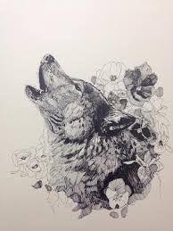 Bildergebnis für wolf woman art ink